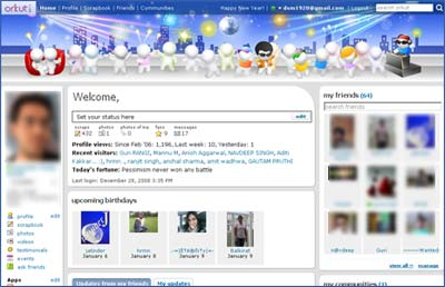 then click on themes tab scroll down and look for happy new year theme